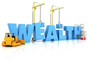 building wealth takes work