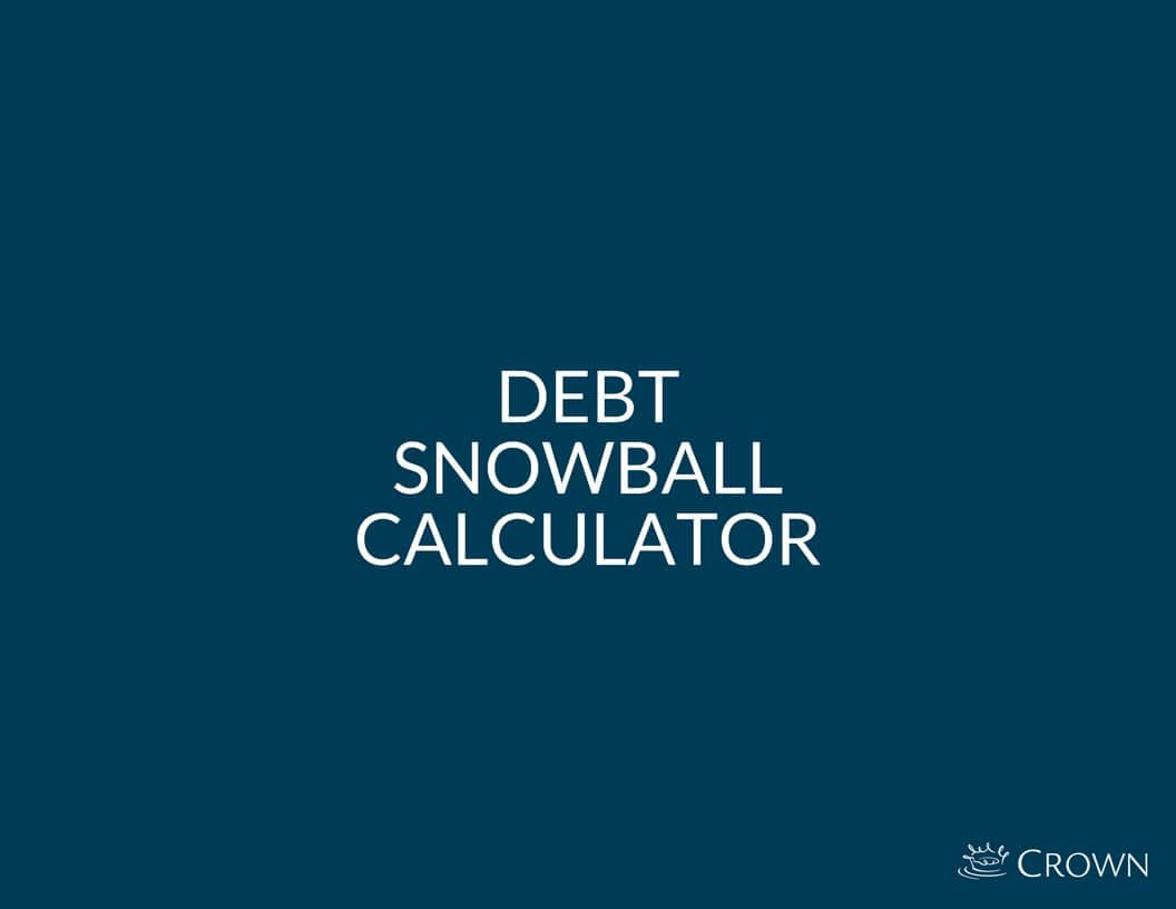 debt snowball calculator crown