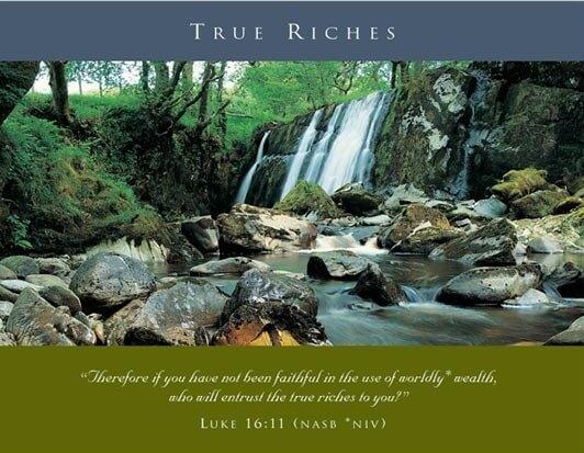 Week 1 True Riches