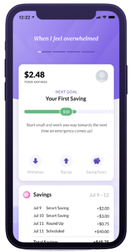 Eli Savings App